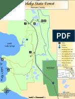 welaka forest map