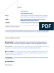 Detailed Job Description Template