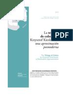 La Trilogia de Colores de Krzysztof Kieslowski