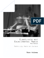 Electronic and Experimental Music Technology cover