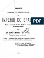 Chronica geral e minuciosa do imperio do Brazil