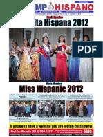 Señorita Hispana 2012