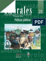 Revista Umbrales 21 Revista del Postgrado en Ciencias del Desarollo CIDES UMSA La Paz Bolivia.pdf