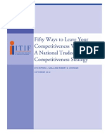 Fifty Ways to Leave Your Competitiveness Woes Behind