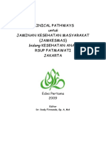 Dody Firmanda 2009 - Clinical Pathways Jamkesmas SMF Kesehatan Anak RS