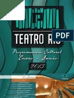 PROGRAMACIÓN TEATRO RÍO IBI ENERO A JUNIO 2013