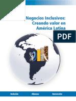 Negocios Inclusivos Creando Valor en America Latina