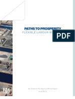 Paths to Prosperity - Labour Market Ontario PC White Paper