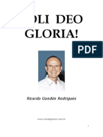 Ricardo Gondim - Soli Deo Gloria
