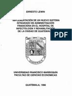 Administracion Financiera Hospial Guatemala