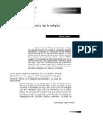 La Religion de La Salida de La Religion MGauchet 2006
