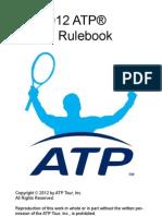 ATP rulebook 2012