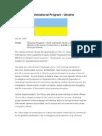 9 July 18, 2006, UKRANIAN Meeting Summary