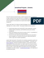 23 May 14, 2009 ARMENIA Meeting Summary