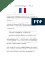 27 January 27, 2010 FRANCE Meeting Summary
