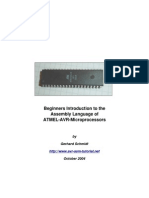 Beginners Introduction to the Assembly Language of ATMEL AVR Microprocessors