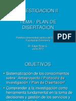 Planeación de Investigación