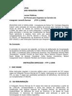 Edital - Fotógrafo Técnico-Pericial (FTP-1-2008)