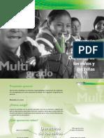 Proyecto de aula multigrado Derechos de los niños