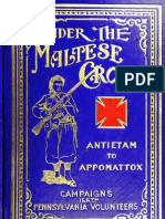 Under the Maltese Cross Antietam to Appomattox