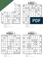 Sudoku 129 Booklet