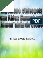 algemene stelregels ahlus sunnah