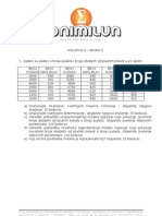 STATISTIKA Priprema Za 2. Kolokvij C Grupa
