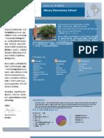 DCPS School Profile 2011-12 (Mandarin) - Maury