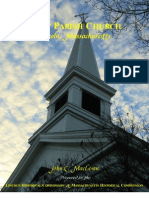 First Parish Church, Lincoln, Massachusetts, Historical Inventory Report
