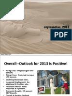 Ozymandias 2013 for GAR, Part 1