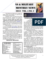Veterans & Military Families Monthly News-February 2013