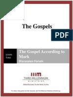 The Gospels - Lesson 3 - Forum Transcript