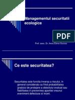 SECURITATE ECOLOGICA