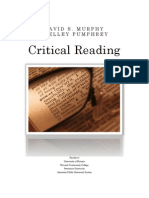 Critical Reading Handout