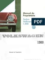 Manual Fusca 1969