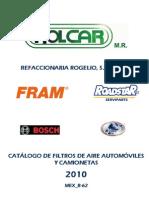 Filtros Aire Rolcar 2010 Logos