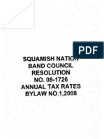SN Annual Tax Rates By Law No. 1 2008