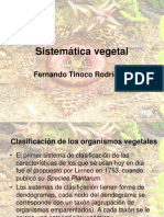 Sistemática vegetal filogenia