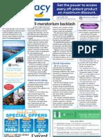 Pharmacy Daily for Fri 01 Feb 2013 - HMR backlash, Medicines Australia, heparin, BI, Pharmaxis and much more