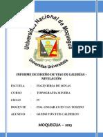 INFORME DE GALERÍAS NIVELACION