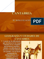 RomanizaciÓn en Cantabria