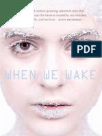 Karen Healey - When We Wake (Extract)