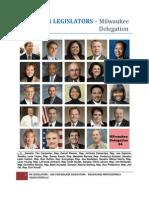 WISCONSIN LEGISLATORS - Milwaukee Delegation