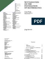Wright, Crispin - Wittgenstein on the Foundation of Mathematics