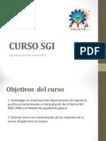 CURSO SGI