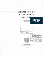 Maddox, Elements of Functional Analysis