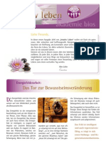 intuitivLEBEN Magazin | 2010_01 | Energiefeldarbeit, Archetypen