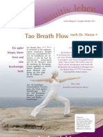 intuitivLEBEN Magazin | 2011_10 | Tao Breath Flow nach Dr. Mazza ® - Methode