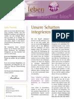 intuitivLEBEN Magazin | 2010_05 | Unsere Schatten integrieren