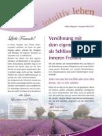 intuitivLEBEN Magazin | 2011_03 | Versöhnung mit den eigenen Schatten als Schlüssel zur inneren Freiheit